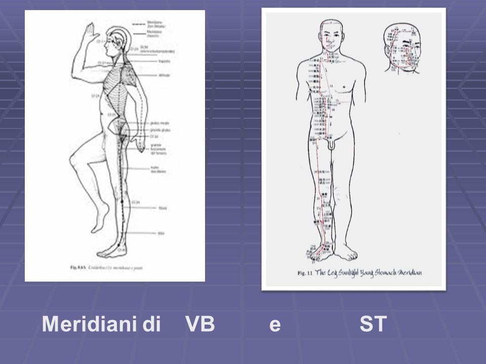 Meridiani di VB e ST