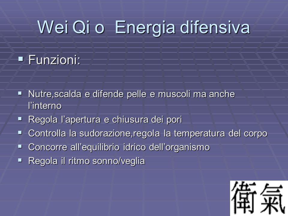 Wei Qi o Energia difensiva
