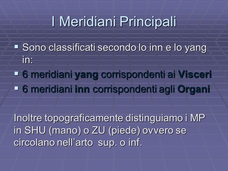 I Meridiani Principali