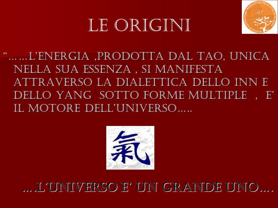 Le Origini ….l'universo e' un grande uno….