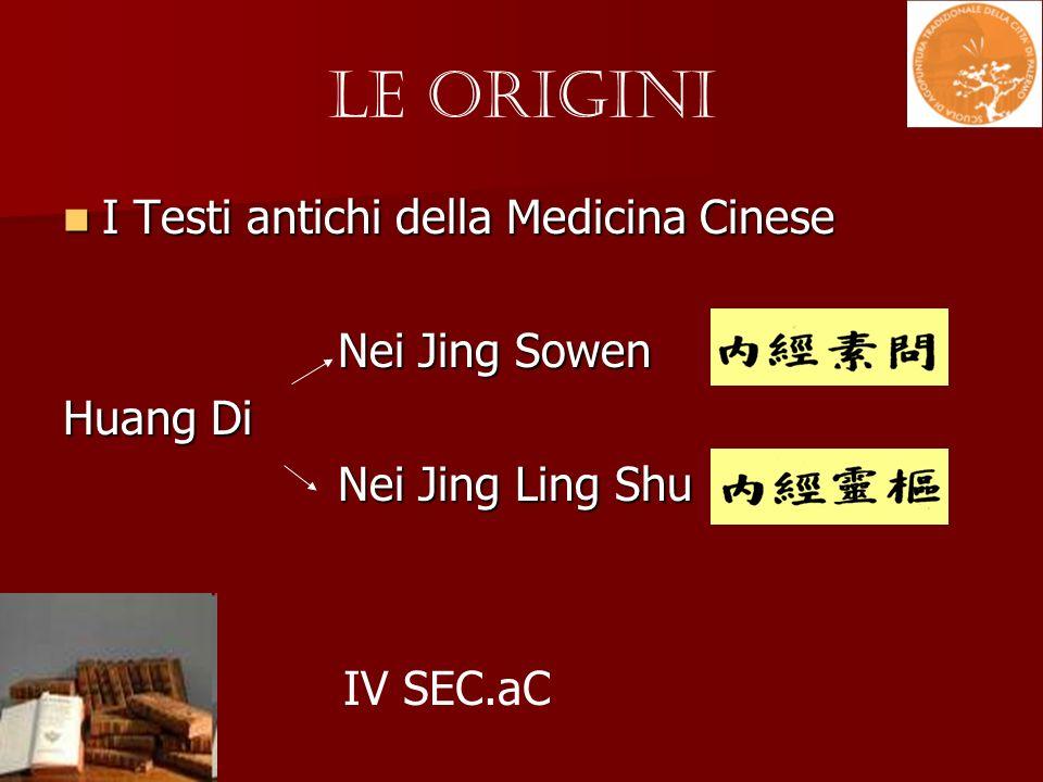 Le Origini I Testi antichi della Medicina Cinese Nei Jing Sowen