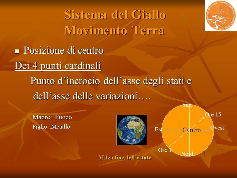 Sistema del Giallo Movimento Terra