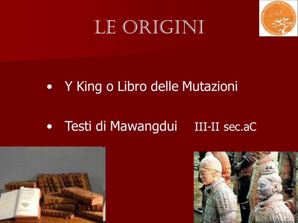 Le Origini Y King o Libro delle Mutazioni