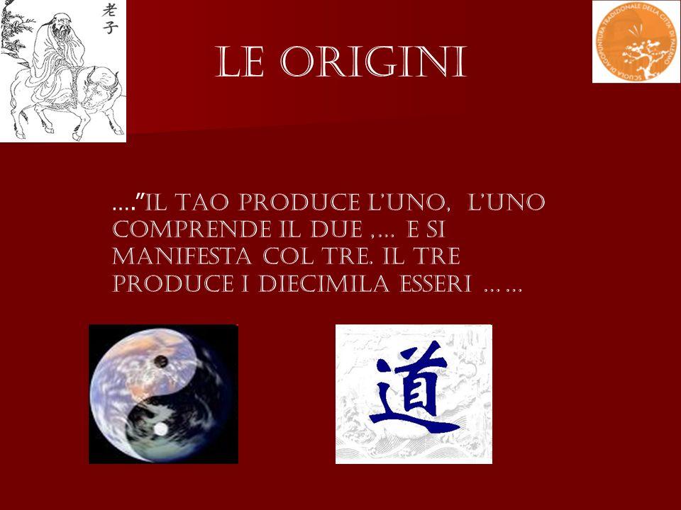 Le Origini …. Il Tao produce l'Uno, l'Uno comprende il Due ,… e si manifesta col Tre.