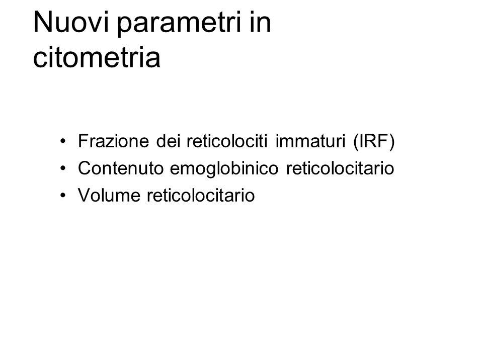 Nuovi parametri in citometria