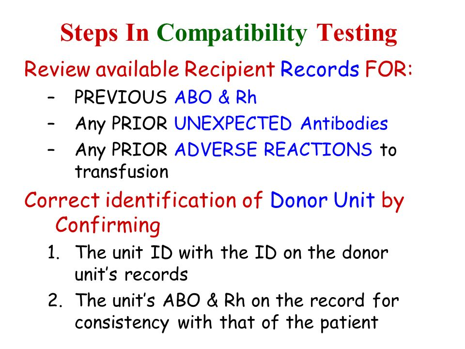 Steps In Compatibility Testing