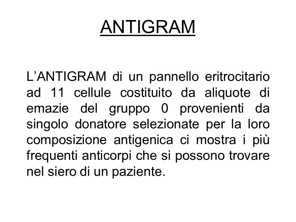ANTIGRAM
