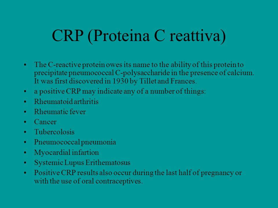 CRP (Proteina C reattiva)