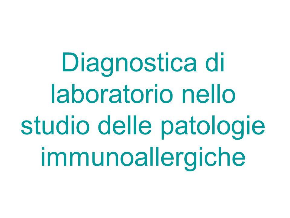Diagnostica di laboratorio nello studio delle patologie immunoallergiche
