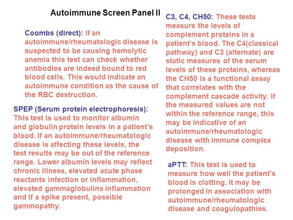 Autoimmune Screen Panel II