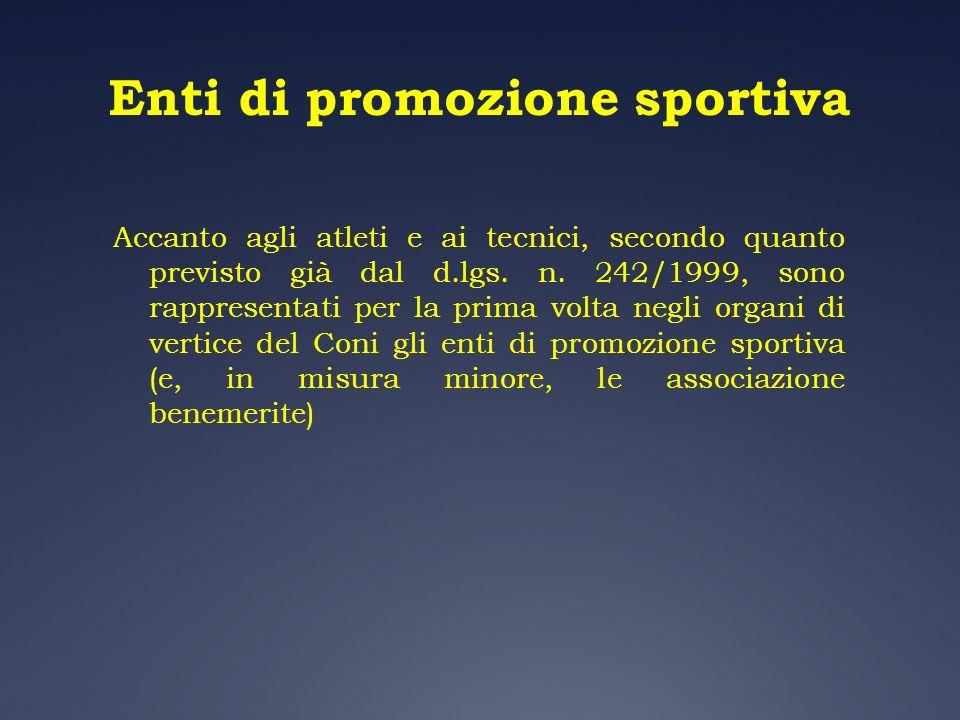 Enti di promozione sportiva