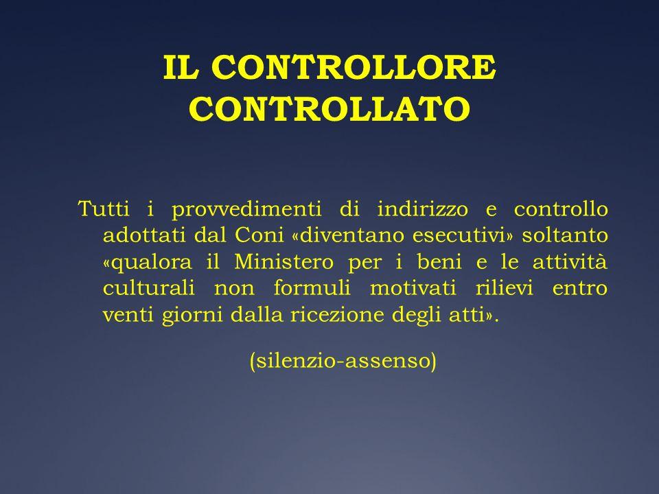 IL CONTROLLORE CONTROLLATO