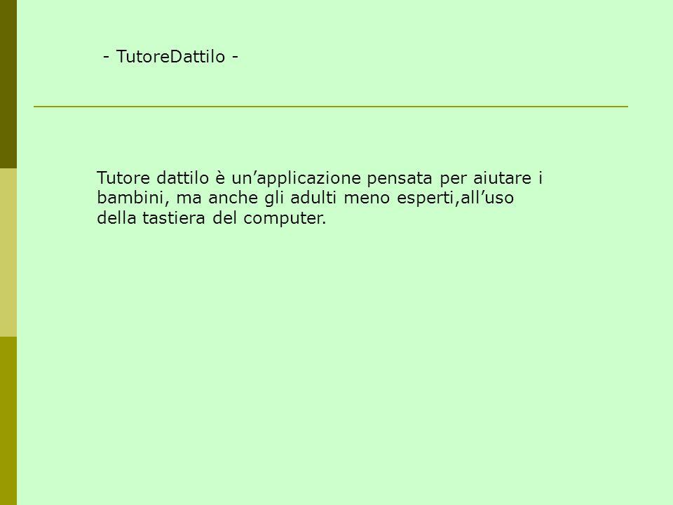 - TutoreDattilo -