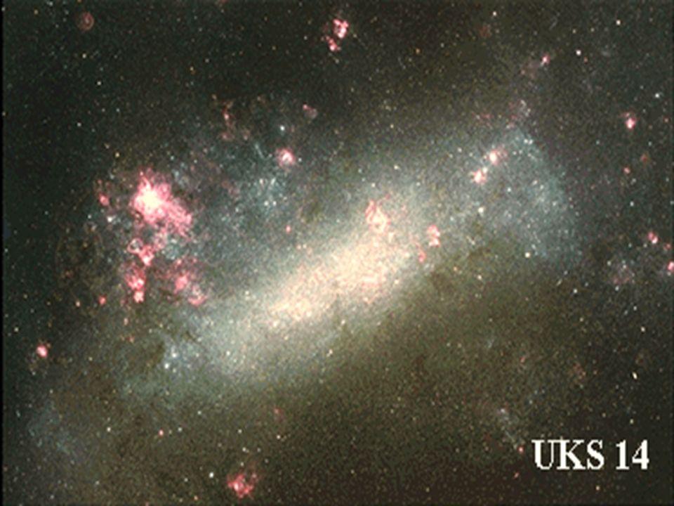 Nubi di magellano. Disomogeneita' dell'universo