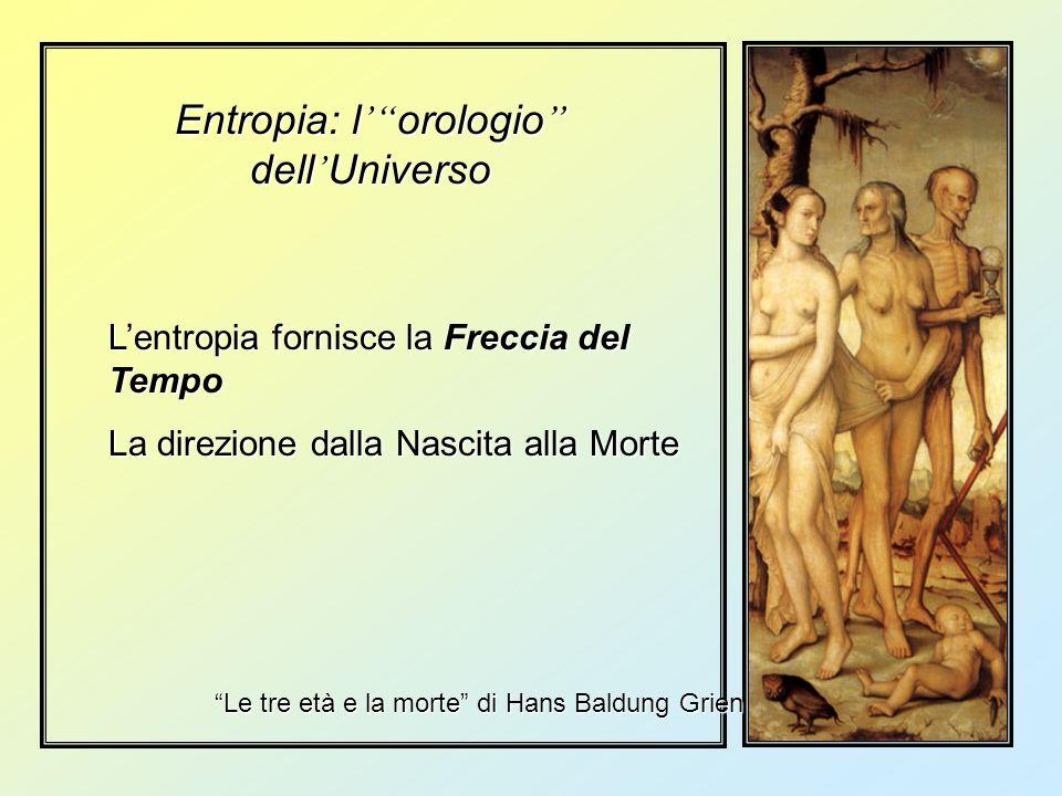 Entropia: l' orologio dell'Universo