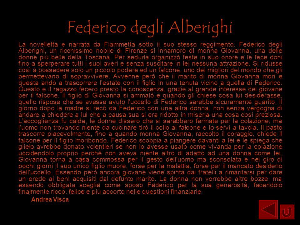 Federico degli Alberighi