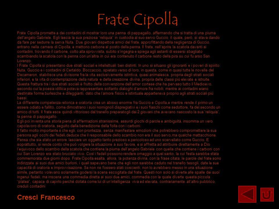 Frate Cipolla Cresci Francesco