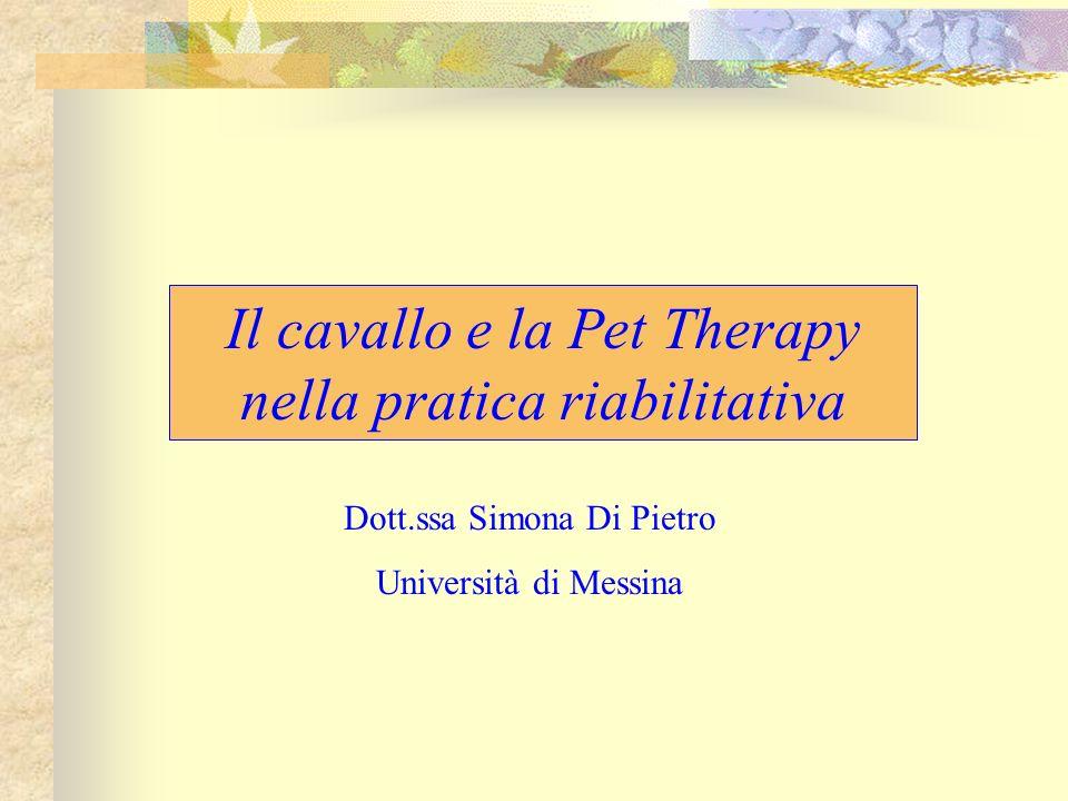 Il cavallo e la Pet Therapy nella pratica riabilitativa