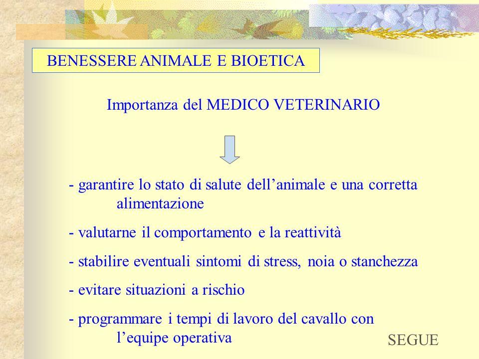 BENESSERE ANIMALE E BIOETICA