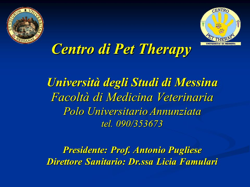 Centro di Pet Therapy Università degli Studi di Messina