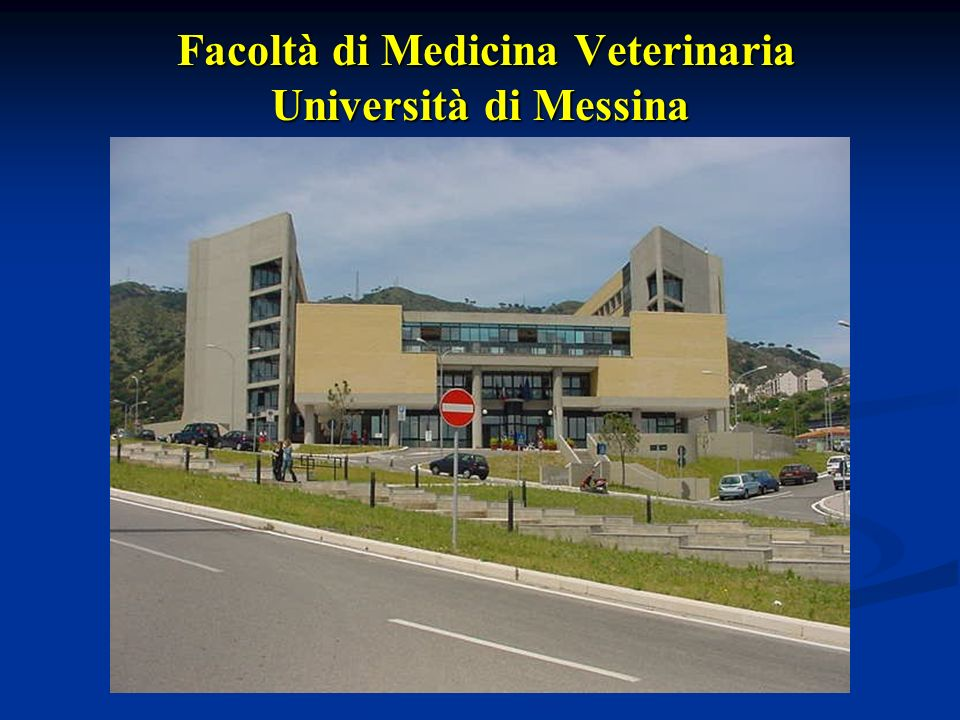 Facoltà di Medicina Veterinaria Università di Messina