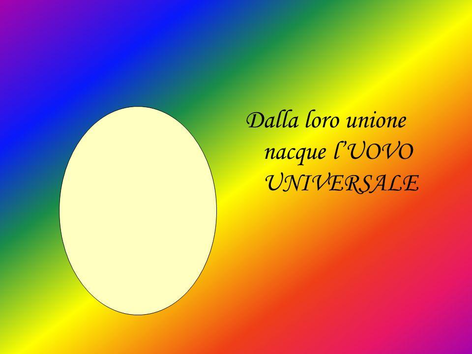 Dalla loro unione nacque l'UOVO UNIVERSALE