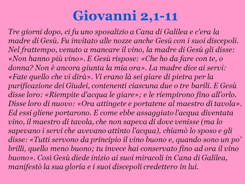 Giovanni 2,1-11