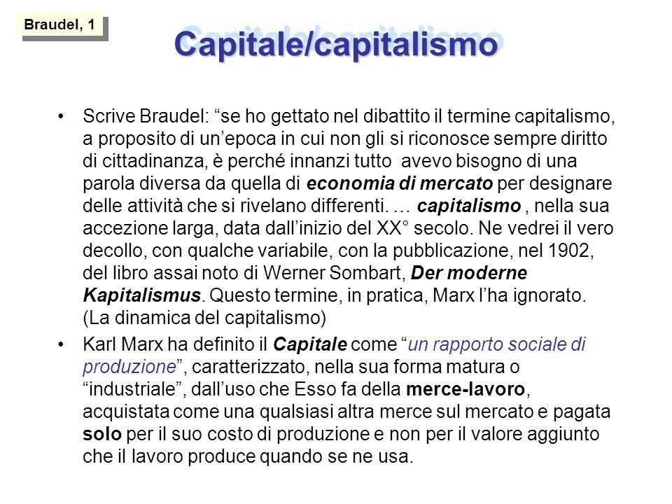 Capitale/capitalismo