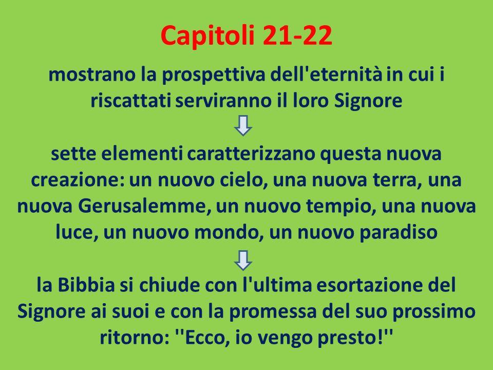 Capitoli 21-22