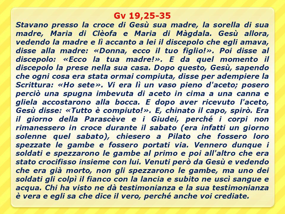Gv 19,25-35