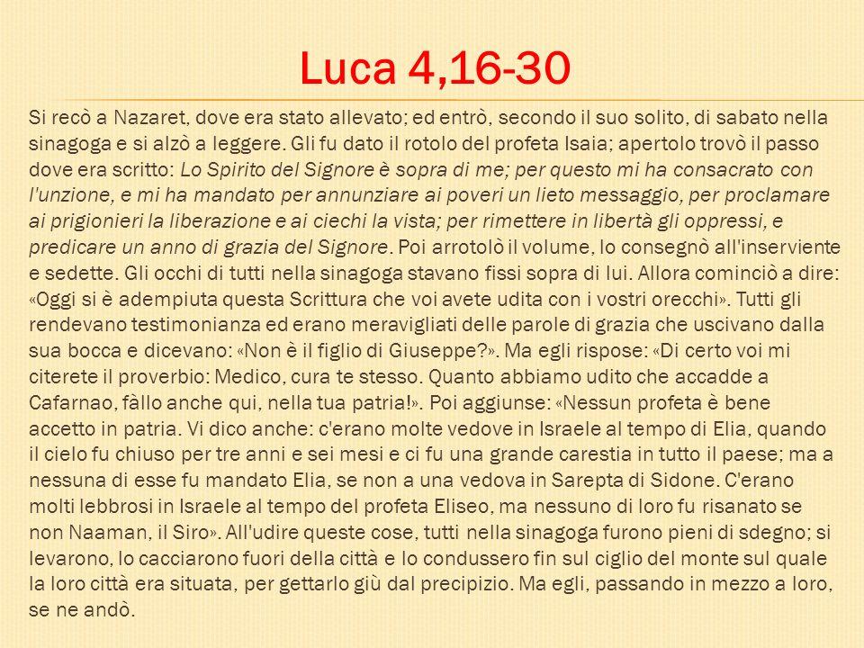 Luca 4,16-30