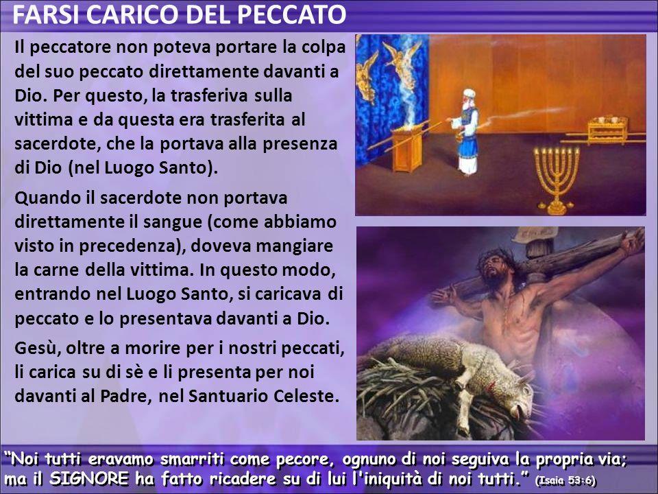 FARSI CARICO DEL PECCATO