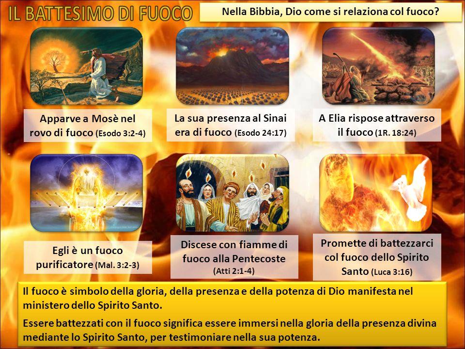 Nella Bibbia, Dio come si relaziona col fuoco