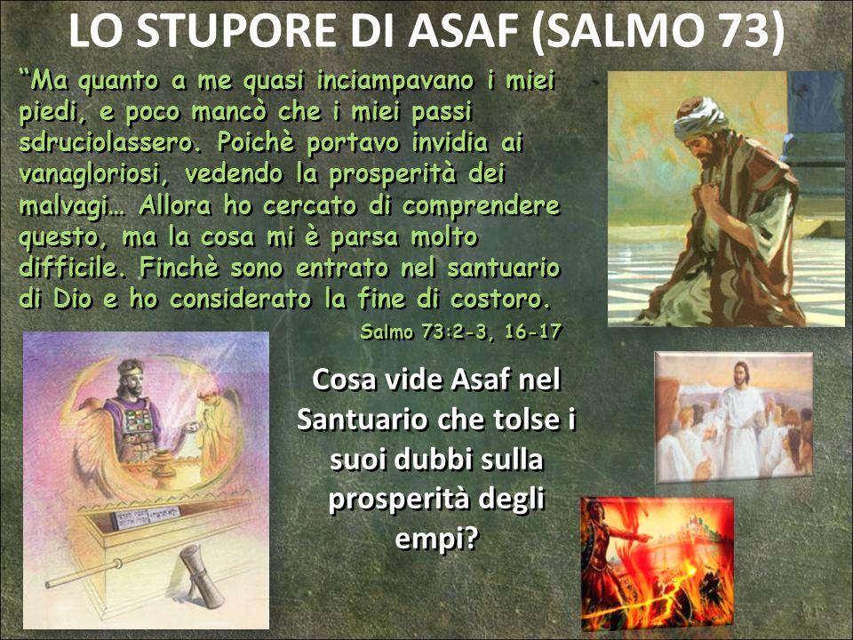 LO STUPORE DI ASAF (SALMO 73)