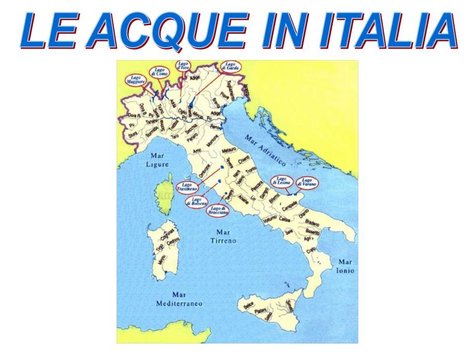 LE ACQUE IN ITALIA