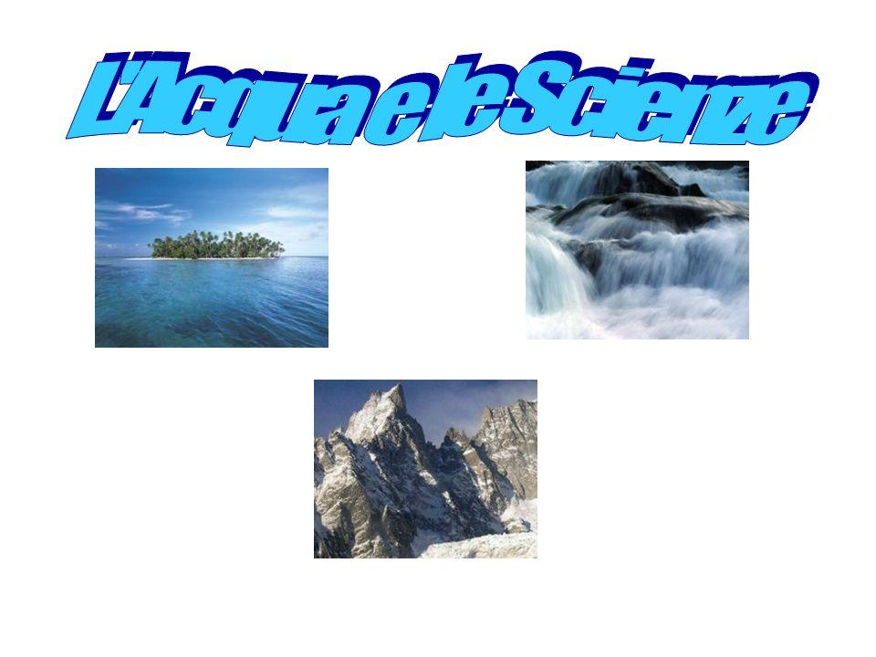 L Acqua e le Scienze