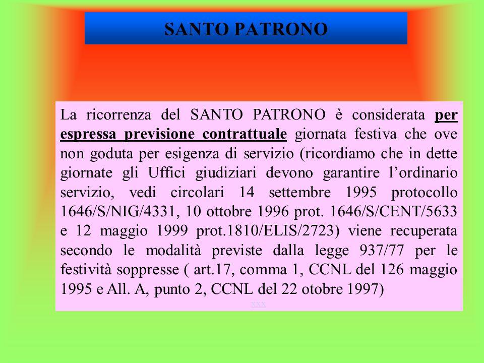 SANTO PATRONO