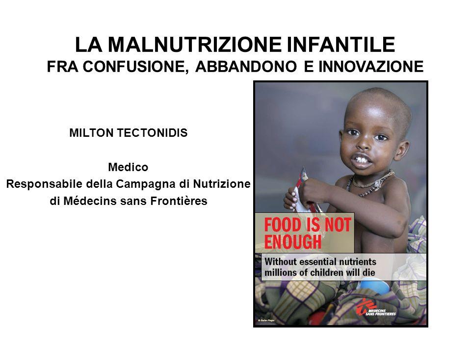 LA MALNUTRIZIONE INFANTILE