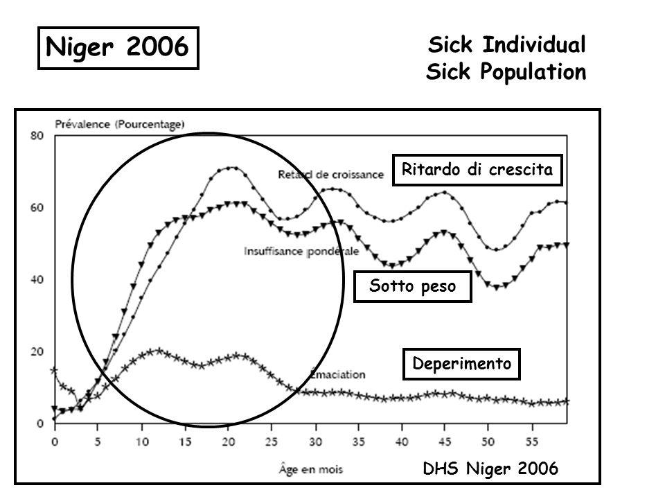 Niger 2006 Sick Individual Sick Population Ritardo di crescita