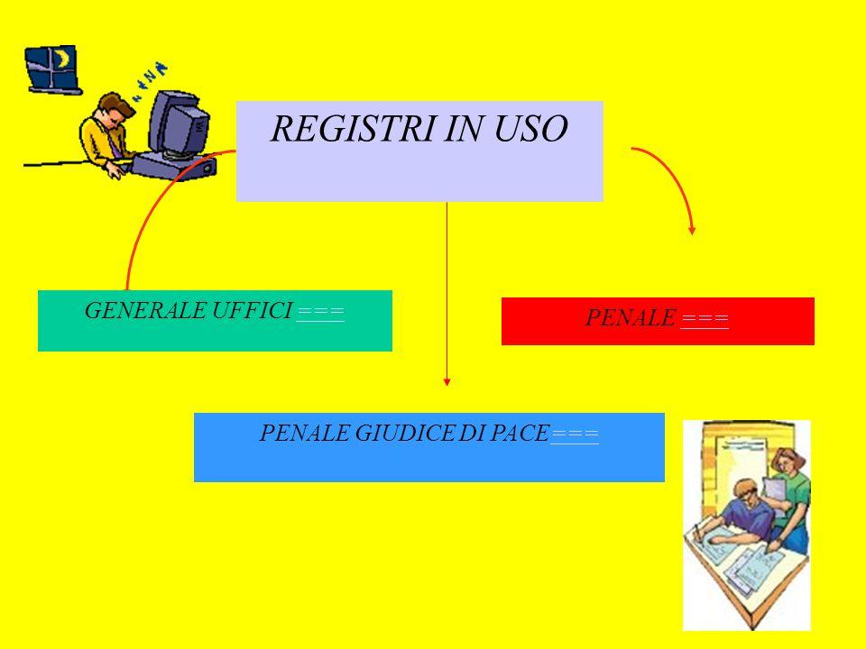 PENALE GIUDICE DI PACE===