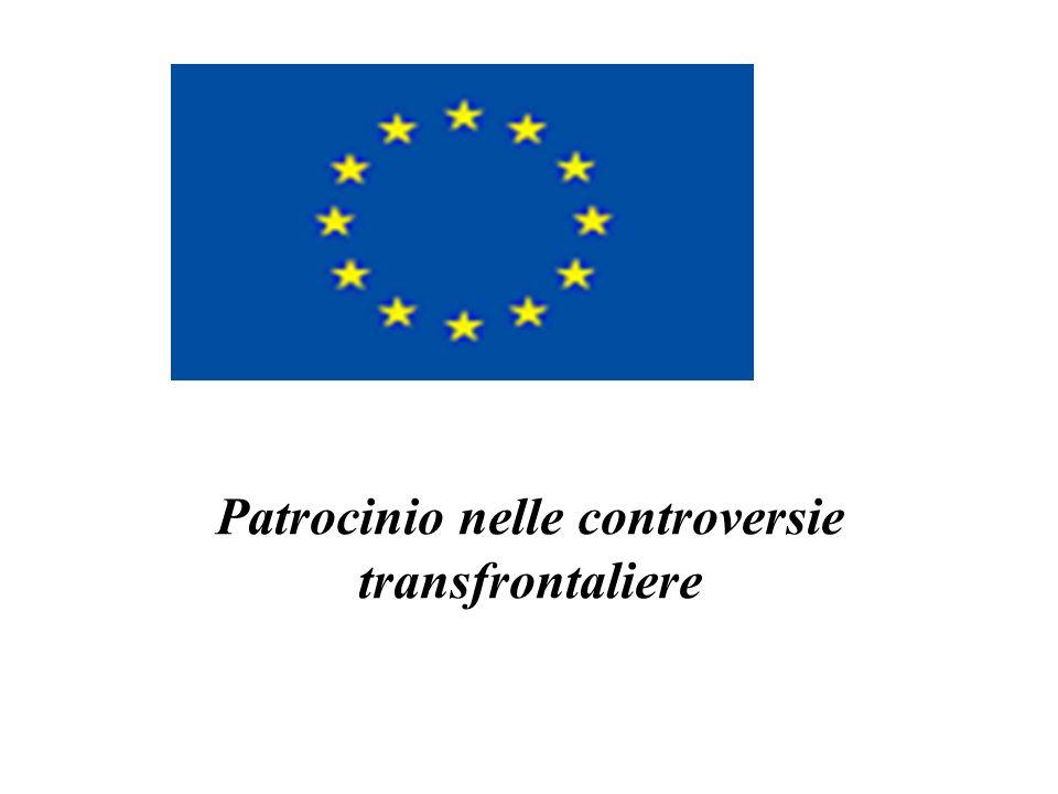 Patrocinio nelle controversie transfrontaliere
