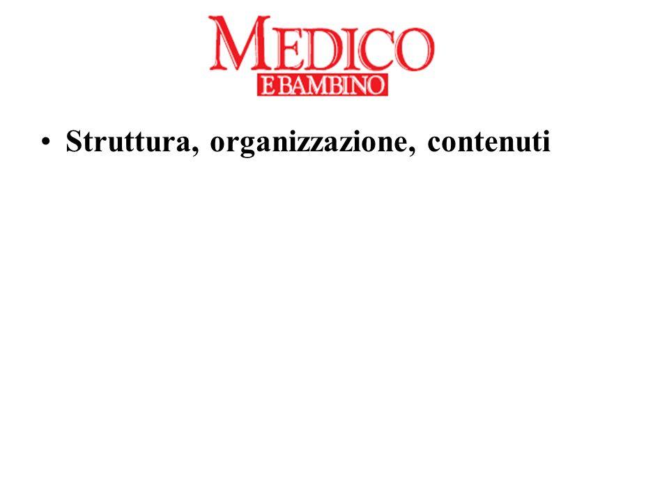 Struttura, organizzazione, contenuti