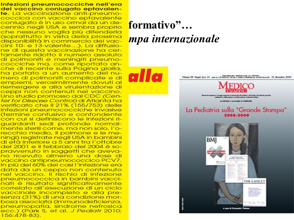 Sufficiente rigore (in)-formativo …