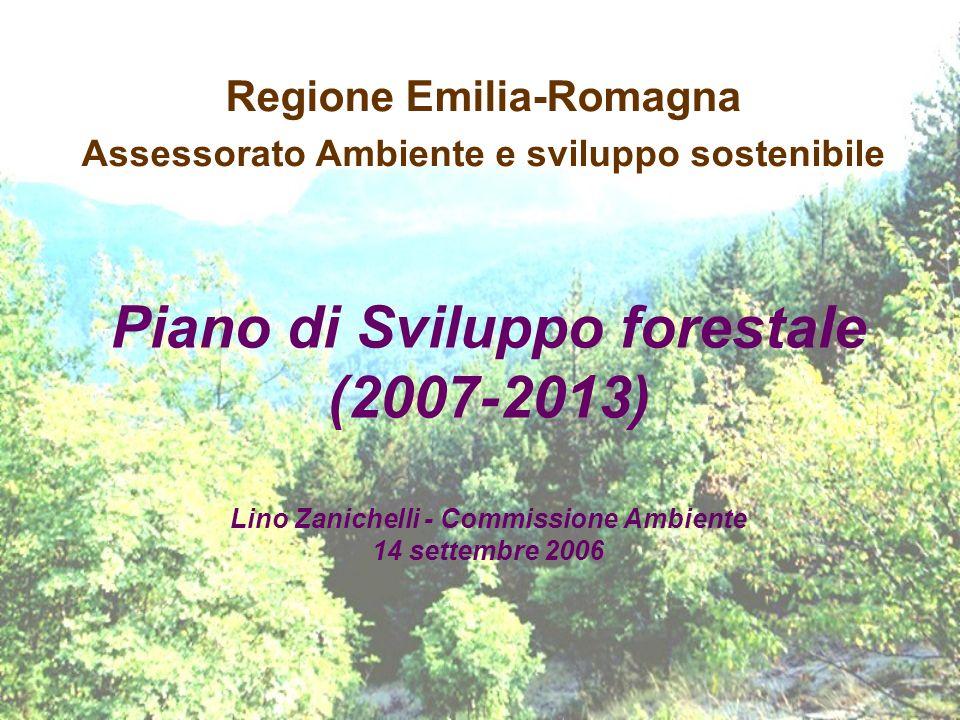 Regione Emilia-Romagna Assessorato Ambiente e sviluppo sostenibile