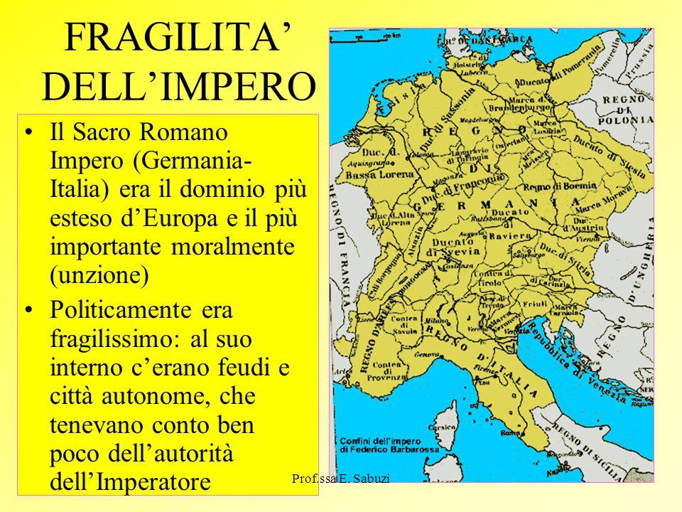 FRAGILITA' DELL'IMPERO