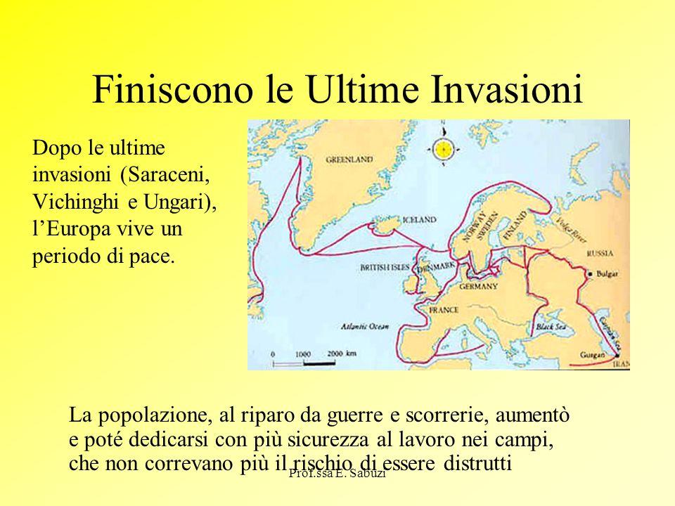 Finiscono le Ultime Invasioni