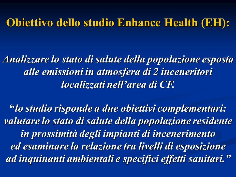 Obiettivo dello studio Enhance Health (EH):