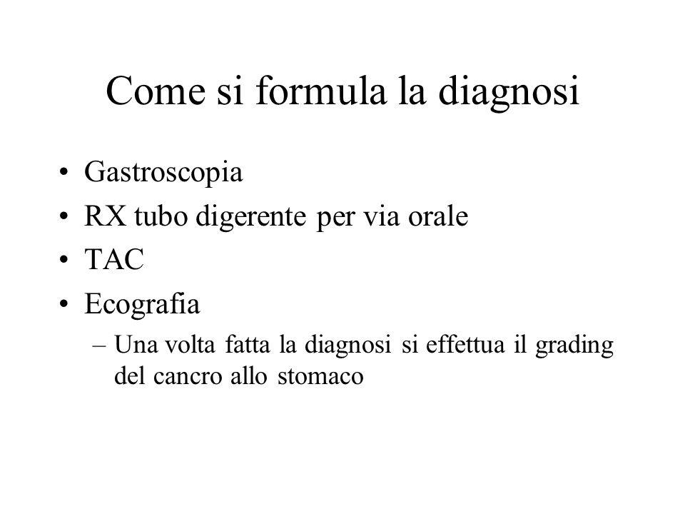 Come si formula la diagnosi