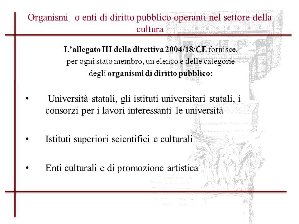 Istituti superiori scientifici e culturali
