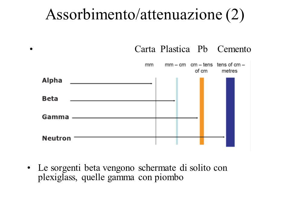 Assorbimento/attenuazione (2)